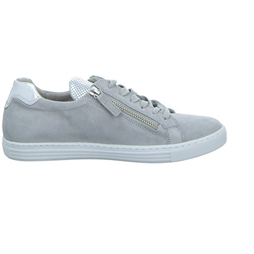 Gabor Comfort, Sneakers Basses Femme Gris (light grey/argento 40)