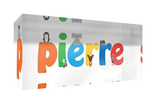 Little Helper Pierre 515blk - 15de Diamant poli Baby andenken/jeton, personnalisé avec le nom jeunes, pierre, petit, 5 x 15 x 2 cm