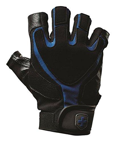 Harbinger Herren s Training Grip Gewichtheben Handschuhe, Schwarz - Blau