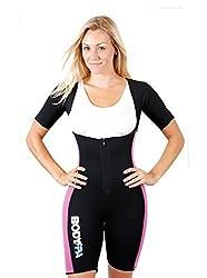 Body SPA Light Body Sauna Suit Neoprene Full Body Shaper GYM Sport Aerobic (Pink, Medium) 13832