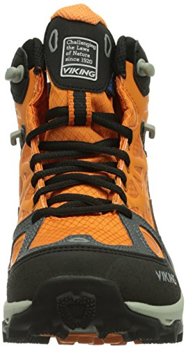 Viking Ascent GTX Unisex-Erwachsene Trekking & Wanderschuhe Orange (Rust/Black 6302)