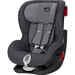 Britax Römer car seat 9-18 kg, KING II BLACK SERIES, group 1, Storm Grey   6