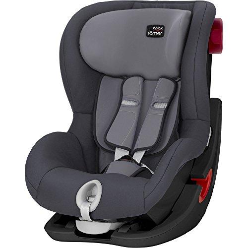 Britax Römer KING II Kindersitz 9-18 kg, Autositz Gruppe 1, Storm Grey