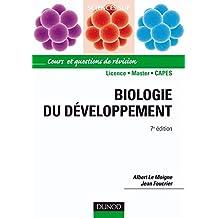 Biologie du développement - 7e édition: Cours et questions de révision