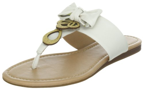Via Uno Leather Casein 21110610, Chaussons femme Blanc-TR-SW324