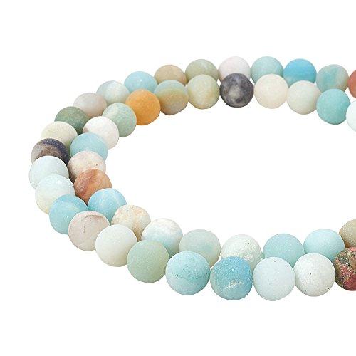Pandahall elite 1 filo 47~49pcs 8mm perline rotonde perline naturale perle di howlite per gioielli fai da te, foro: 1mm, circa 47 ~ 49pcs / filo, 14.9 ~ 15.6
