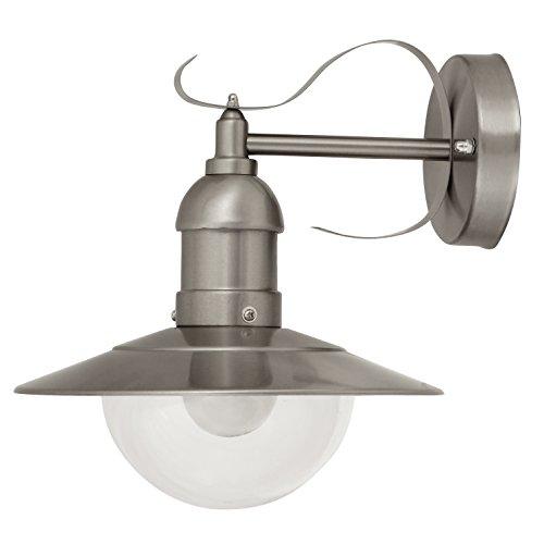 Rabalux Oslo - Lampada a sospensione da esterno, Metallo Plastica, bianco anticato, E27 60 wattsW