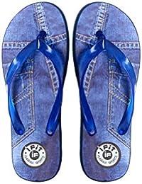 Azotic Men's Blue Eva Slip-On Slipper