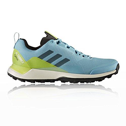 adidas Damen Terrex CMTK GTX W Trekking-& Wanderhalbschuhe, Mehrfarbig (Azuvap/Negbas/Seamso), 40 EU