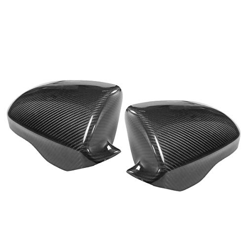 Viviance Pair Direct Add On Carbon Fiber Side Car Mirror Covers Caps Für BMW F10 M5 2012 Bis 2017