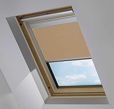 Thermal Blackout Roller Roof Blinds For Fakro Windows Fabric Size