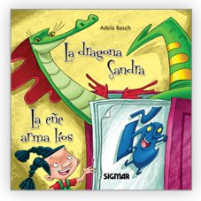 La dragona Sandra / The dragon Sandra (Hilo Infinito / Infinite Thread) por Florencia Del Campo