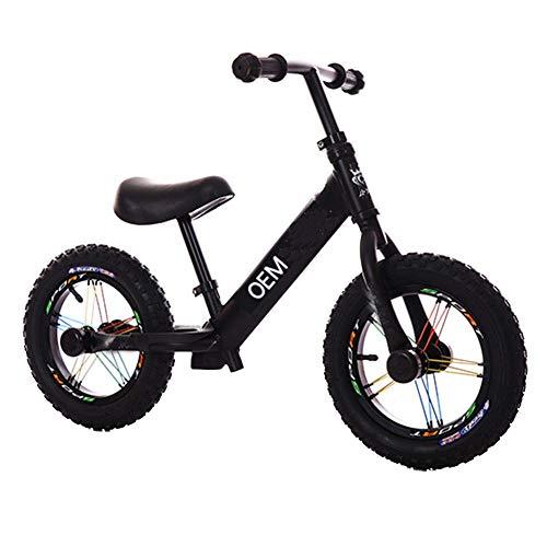 Laufrad unterscheidet Sich von normalen Fahrrädern Es gibt kein Pedal und kein Trainingsrad Scooter-Lauftrainingsfahrrad mit verstellbaren Lenkern und Sitzen