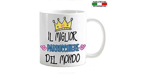 My Cust Tazza Mug Personalizzabile OSS Migliore del Mondo Corona di Cuori