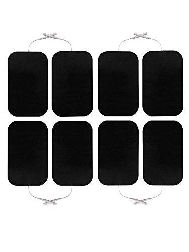 8 Stück Elektroden 50 x 90 mm für SaneoTENS, SaneoSPORT, SaneoVITAL und andere TENS EMS Reizstromgeräte