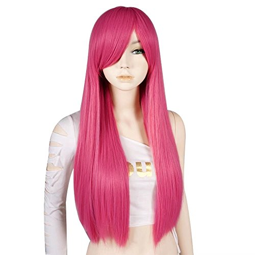 Estyle Fashion 28 Inches Lang Gerade Mode Cosplay -