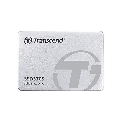 """Transcend SSD370S - Disco duro sólido de 128 GB (SATA III, MLC, hasta 560 MB/s, 2.5""""), color plateado"""