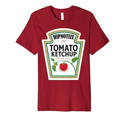 Ketchup Speisewürze Kostüm Tshirt Passende Gruppe Familie
