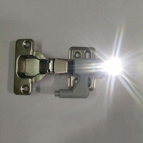 Gladle Led Scharnier Schrank Auto Licht Schrank Tür LED Licht Für Küche Kleiderschrank Schrank (Auto-scharniere)