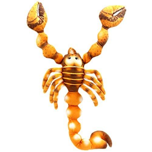 TAGLN Realistische Kuscheltiere Spielzeug Skorpion Plüsch lebensechte Halloween Kostüme 40 cm