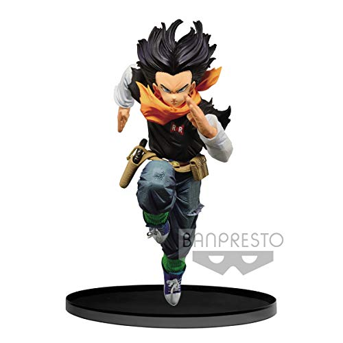 Banpresto Dragon Ball Z Android 17 BWFC World Figure Colosseum 2018
