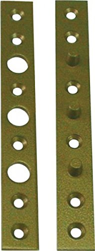 Flach-Bändersicherung 160x20x3mm stark Stahl hell verzinkt