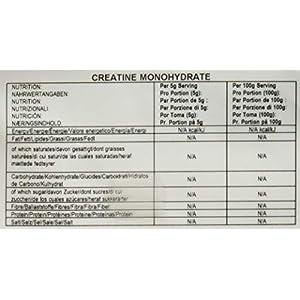 BULK POWDERS Kreatin Monohydrat Pulver