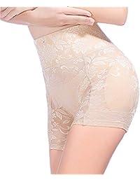 Pantalones Moldeadores Fajas, De Gran Tamaño Encaje Cintura Alta Pantalones Cadera Ángulo Plano Acolchado Nalgas Transpirables Fake Ass Mujer Bragas Braguitas Moldeadoras (M-XXXXL)