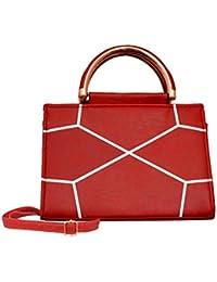 Amit Bags Beautiful PU Handbag For Girls /women's - B078B4Y8TL