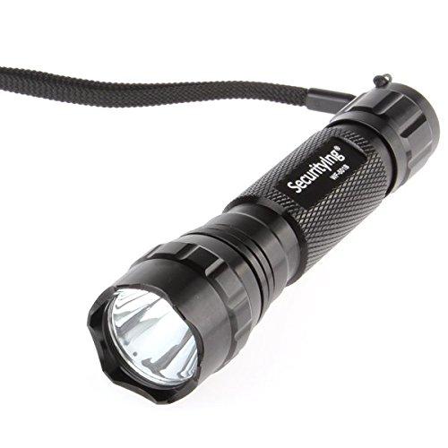 SecurityIng® Super Hell 5Modi 600lumens XM-L T6LED Taschenlampe Mini Wasserdicht Beleuchtung Lampe Taschenlampe (18650Akku nicht enthalten)