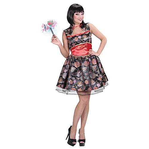 Widmann 01583 - Erwachsenenkostüm Chinesin (Rotes Geisha Kostüm Für Erwachsene)