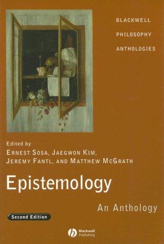 Epistemology: An Anthology por From Blackwell Publishing