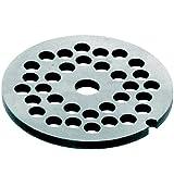32 PORKERT/8 de los orificios de disco para picadora de carne, número 32, de carbono, 8 mm