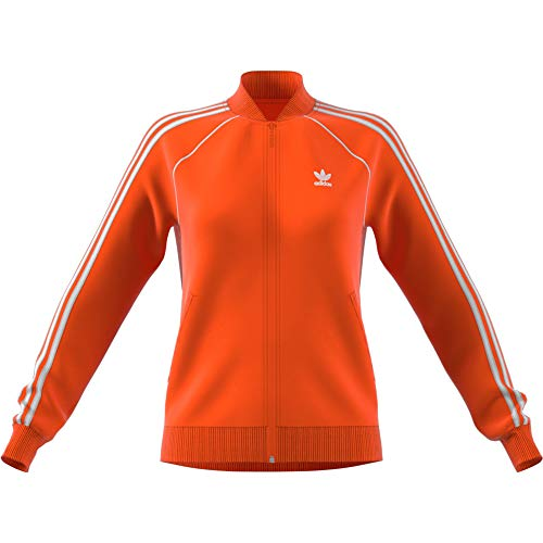 adidas Damen SST TT Jacket, (orange), 40