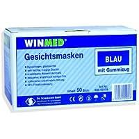 Mundschutz / Dental-Maske mit Elastikband - blau - 3-lagig - 50 Stück preisvergleich bei billige-tabletten.eu