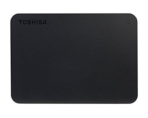 Toshiba Canvio Basics Disco duro externo portátil USB 3.0 de 2.5 pulgadas (1 TB) color negro