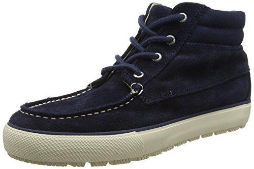 Sperry Top-Sider Bahama de Las Mujeres Pescado Círculo Coral Fashion Sneaker, Azul (Azul), 7.5 B(M) US