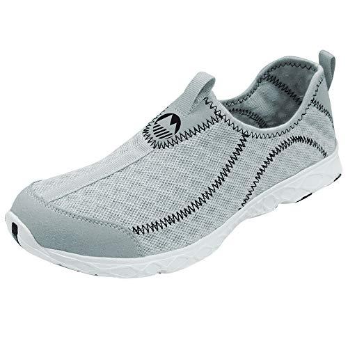 Male Water (Lakeland Active Derwent Men's Hybrid Water Shoe - Grey - 38)