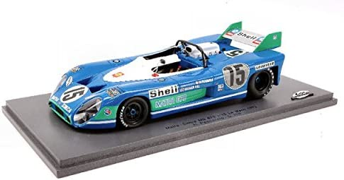 Spark Model S24LMS005 Matra Simca 670 N.15 Winn.LM72 1:24 MODELLINO Die CAST | Durable Dans L'utilisation