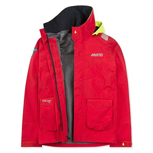 Musto Damen Herren MPX GTX Pro Coastel Jacke, Farbe:rot, Größe:XL