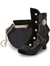 3015c4d1c33 Joe Browns Couture Black Duke Victorian Boots UK 9