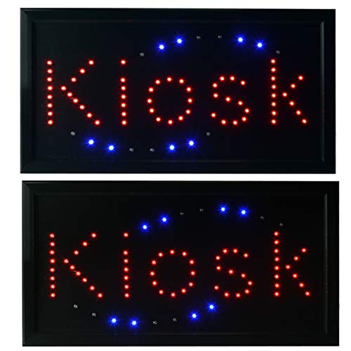 LED Leuchtreklame Werbung, LED Schild, Leuchtschild Noyan® (Kiosk) -