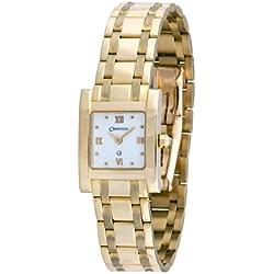 Orphelia mon-7042 - Reloj analógico de cuarzo para mujer, correa de dorado color dorado