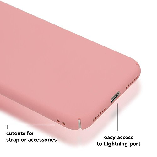 iPhone 8 / 7 Hülle Handyhülle von NICA, Dünnes Hard-Case Schutzhülle Matt, Ultra-Slim Cover Etui Handy-Tasche, Ultra-Slim Phone Backcover Skin Bumper für Apple iPhone-7 / 8 Smartphone , Farbe:Grün Rosa