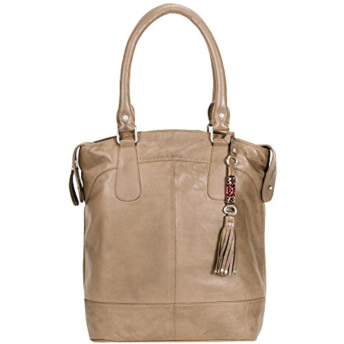 Pace Fratello Rockn Roll Dixie Henkeltasche Shopper In Pelle 30 Cm Luce Cammello