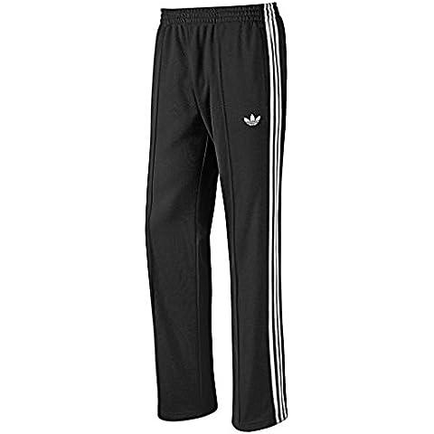 adidas Originals Trefoil Retro de SPO beckenba Flock poliéster Chándal Track Pantalones Hombre Negro negro