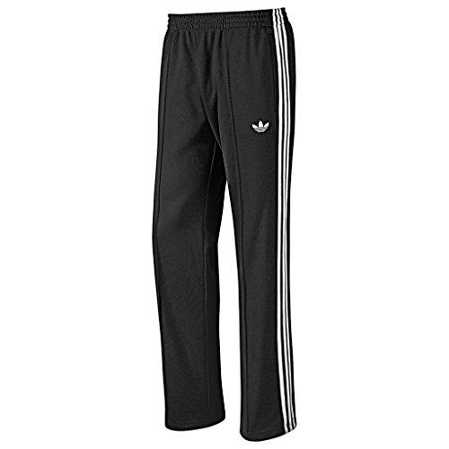 adidas Originals Trefoil Retro de SPO beckenba Flock poliéster Chándal Track Pantalones Hombre Negro negro Talla:small