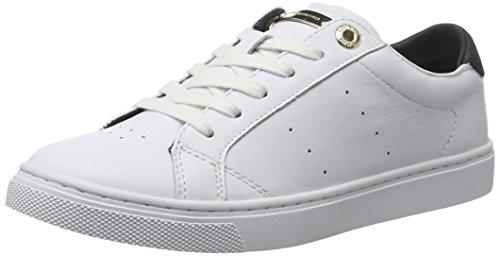 1a1 Hilfiger Brancas V1285enus Sneakers 100 Mulheres branco twnPqr8St6