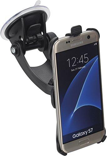 iGrip KFZ Halterung für Samsung Galaxy S7 [Made in Germany   360° drehbar   Vibrationsfrei Für Scheibe & Armaturenbrett] - T5-94980