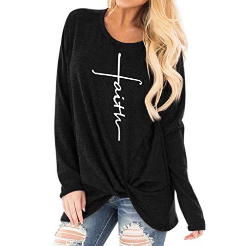brand new 414ef 02eee Femmes Mode Chic sans Bretelles Tunic en Vrac Manche Longue O-Cou Pullover  Décontractée Solide